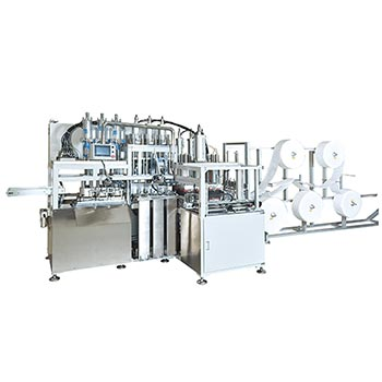 Cup mask / cone mask body making machine